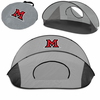 Picnic Time Manta Sun Shelter Miami University Redhawks - Grey/Black