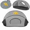 Picnic Time Manta Sun Shelter University of Iowa Hawkeyes - Grey/Black