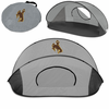 Picnic Time Manta Sun Shelter University of Wyoming Cowboys - Grey/Black