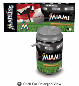 Picnic Time Mega Can Cooler Miami Marlins