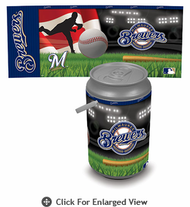 Picnic Time Mega Can Cooler Milwaukee Brewers