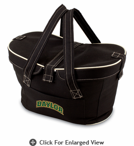 Picnic Time Mercado Basket - Black Baylor University Bears