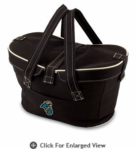 Picnic Time Mercado Basket - Black Coastal Carolina Chanticleers