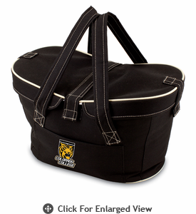 Picnic Time Mercado Basket - Black Colorado College Tigers