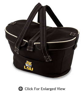 Picnic Time Mercado Basket - Black LSU Tigers