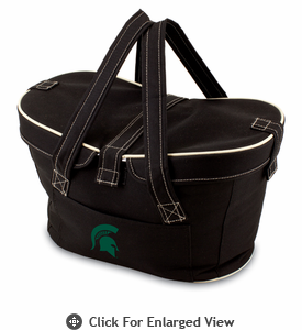 Picnic Time Mercado Basket - Black Michigan State Spartans