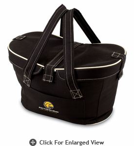Picnic Time Mercado Basket - Black Southern Miss Golden Eagles