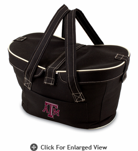 Picnic Time Mercado Basket - Black Texas A & M Aggies