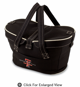 Picnic Time Mercado Basket - Black Texas Tech Red Raiders