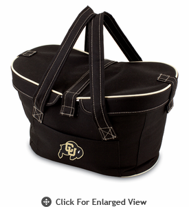 Picnic Time Mercado Basket - Black University of Colorado Buffaloes