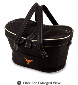 Picnic Time Mercado Basket - Black University of Texas Longhorns