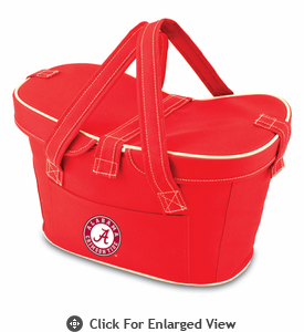 Picnic Time Mercado Basket - Red University of Alabama Crimson Tide