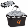 Picnic Time Metro Basket - Black Baltimore Orioles