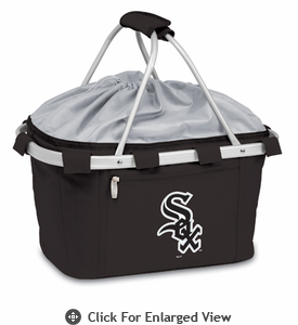 Picnic Time Metro Basket - Black Chicago White Sox