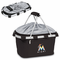 Picnic Time Metro Basket - Black Miami Marlins
