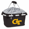 Picnic Time Metro Basket Digital Print - Black Georgia Tech Yellow Jackets
