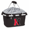 Picnic Time Metro Basket Digital Print - Black Northeastern University Huskies