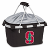 Picnic Time Metro Basket Digital Print - Black Stanford University Cardinal