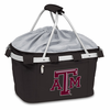 Picnic Time Metro Basket Digital Print - Black Texas A & M Aggies