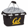 Picnic Time Metro Basket Digital Print - Black UC Berkeley Golden Bears