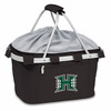 Picnic Time Metro Basket Digital Print - Black University of Hawaii Warriors