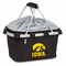 Picnic Time Metro Basket Digital Print - Black University of Iowa Hawkeyes