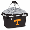 Picnic Time Metro Basket Digital Print - Black University of Tennessee Volunteers