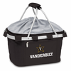 Picnic Time Metro Basket Digital Print - Black Vanderbilt University Commodores