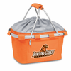 Picnic Time Metro Basket Digital Print - Orange Bowling Green University Falcons