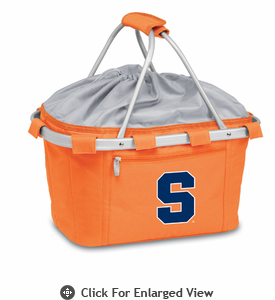 Picnic Time Metro Basket Digital Print - Orange Syracuse University Orange