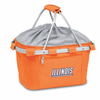 Picnic Time Metro Basket Digital Print - Orange University of Illinois Fighting Illini