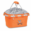 Picnic Time Metro Basket Digital Print - Orange University of Virginia Cavalier