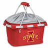 Picnic Time Metro Basket Digital Print - Red Iowa State Cyclones