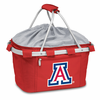 Picnic Time Metro Basket Digital Print - Red University of Arizona Wildcats