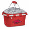 Picnic Time Metro Basket Digital Print - Red University of Arkansas Razorbacks