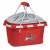 Picnic Time Metro Basket Digital Print - Red University of Louisville Cardinals