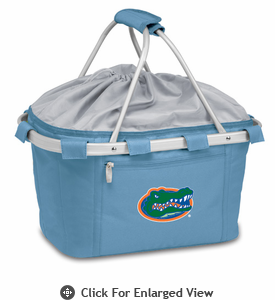 Picnic Time Metro Basket Digital Print - Sky Blue University of Florida Gators