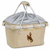 Picnic Time Metro Basket Digital Print - Tan University of Wyoming Cowboys