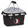 Picnic Time Metro Basket Embroidered- Black Florida State Seminoles