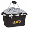 Picnic Time Metro Basket Embroidered- Black James Madison University Dukes