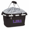 Picnic Time Metro Basket Embroidered- Black LSU Tigers