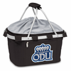 Picnic Time Metro Basket Embroidered- Black Old Dominion Monarchs