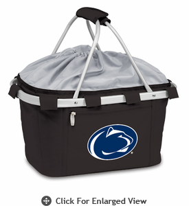 Picnic Time Metro Basket Embroidered- Black Penn State Nittany Lions