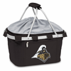 Picnic Time Metro Basket Embroidered- Black Purdue University Boilermakers
