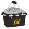 Picnic Time Metro Basket Embroidered- Black UC Berkeley Golden Bears