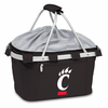 Picnic Time Metro Basket Embroidered- Black University of Cincinnati Bearcats
