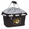 Picnic Time Metro Basket Embroidered- Black University of Missouri Tigers