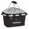 Picnic Time Metro Basket Embroidered- Black Vanderbilt University Commodores