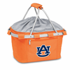 Picnic Time Metro Basket Embroidered- Orange Auburn University Tigers