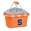 Picnic Time Metro Basket Embroidered- Orange Syracuse University Orange